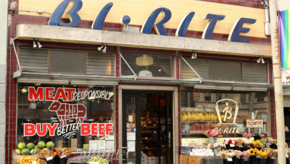 The original Bi-Rite Market, on 18th Street in San Francisco's Mission district, opened in 1940.