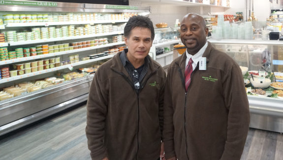 At the heart of the 2017 renovation of the Streeterville Treasure island store were upgrades to the store's deli, bakery and — especially — prepared foods department, say Bob Zenawick, the company's vice president of operations, and Frank Blackwell Jr., the store's manager.