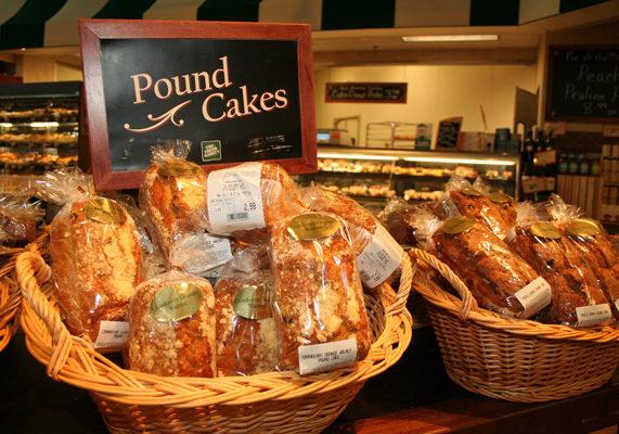 Freshmarket cranberryorangewalnut poundcake