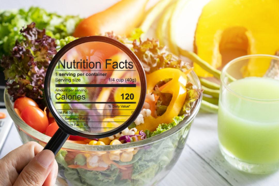 Nutrional Label