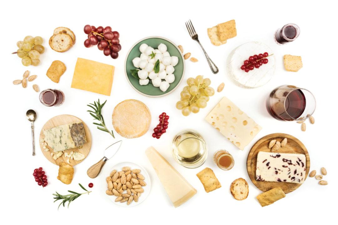 cheese sampling