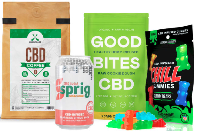 CBD infused foods and beverages