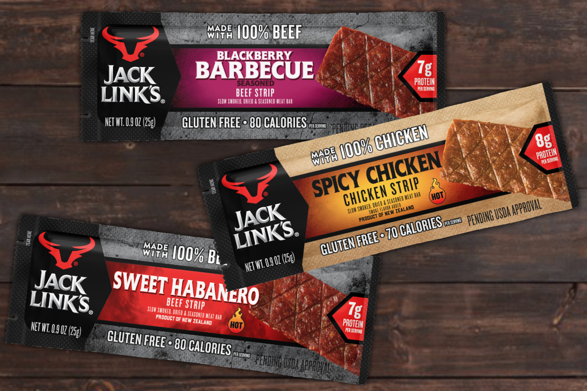 Jack Links beef and chicken bars