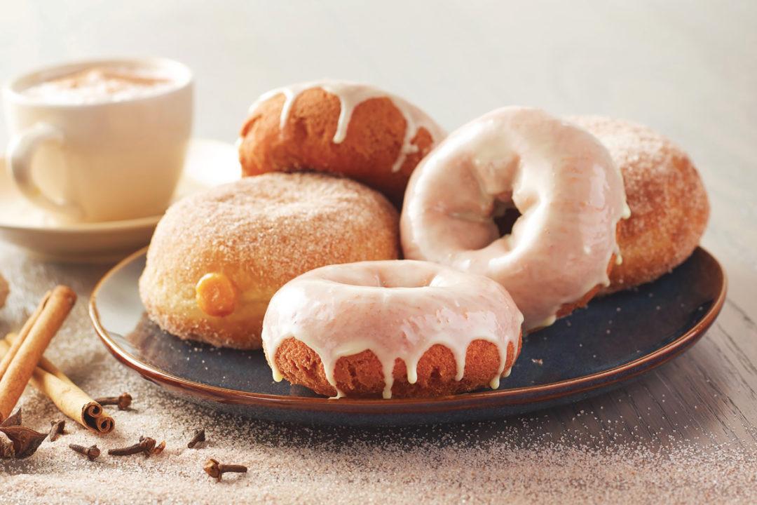 Dawn Foods pumpkin spice donuts