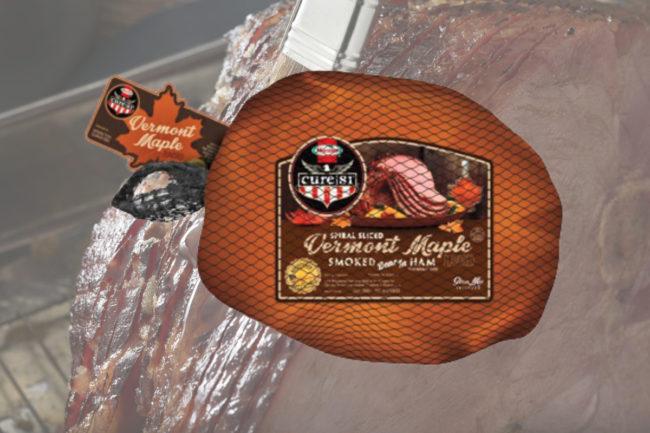 Hormel Cure 81 Vermont maple spiral sliced half ham