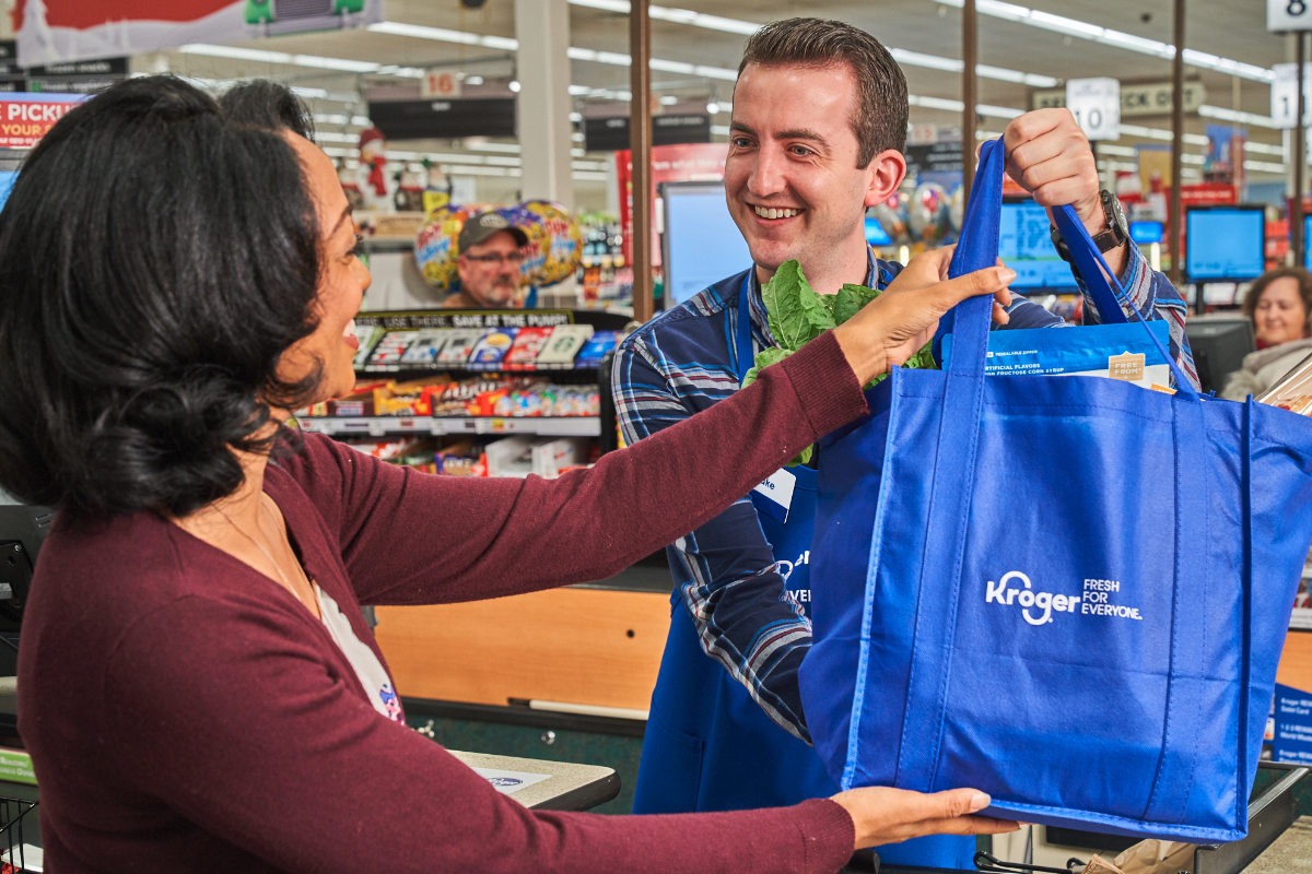 Kroger Fresh For Everyone cashier