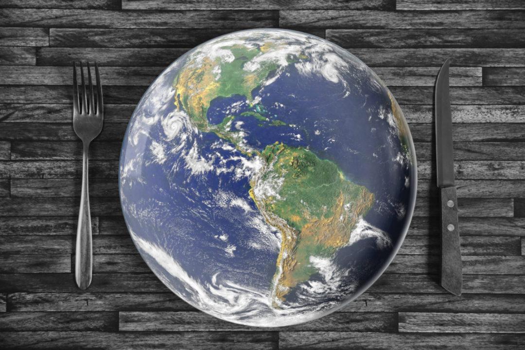 World plate