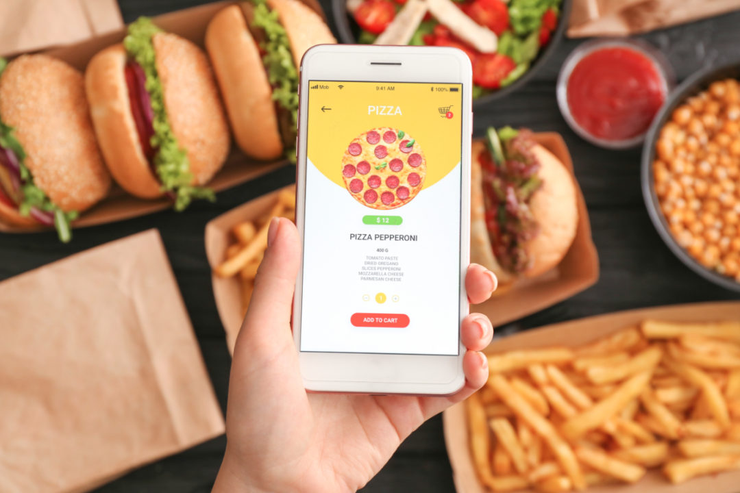 Food service delivery app