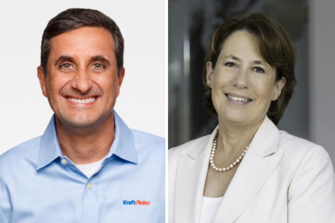 Bernardo Hees and Sheila Bair