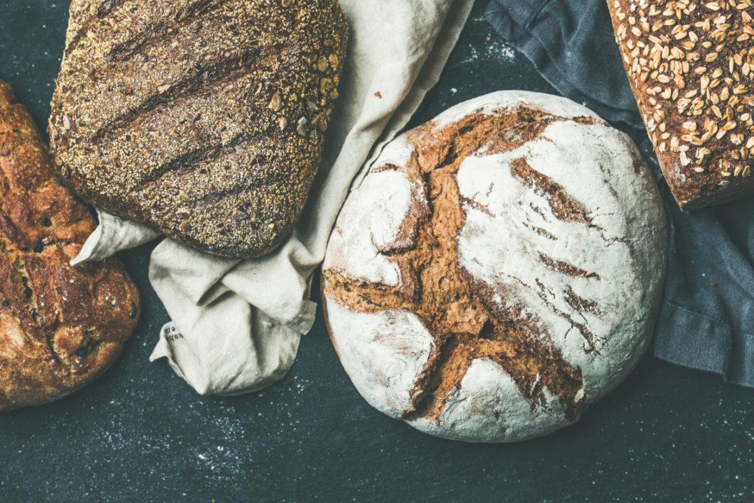 Bread with fiber