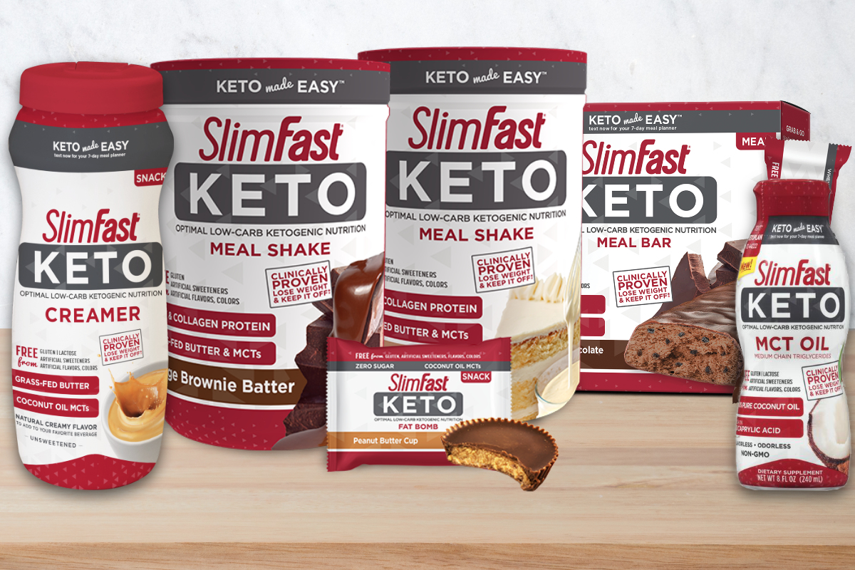 SlimFast keto products