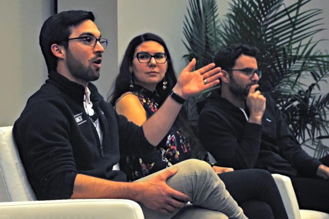 Entrepreneurs panel at Trends and Innovations Seminar