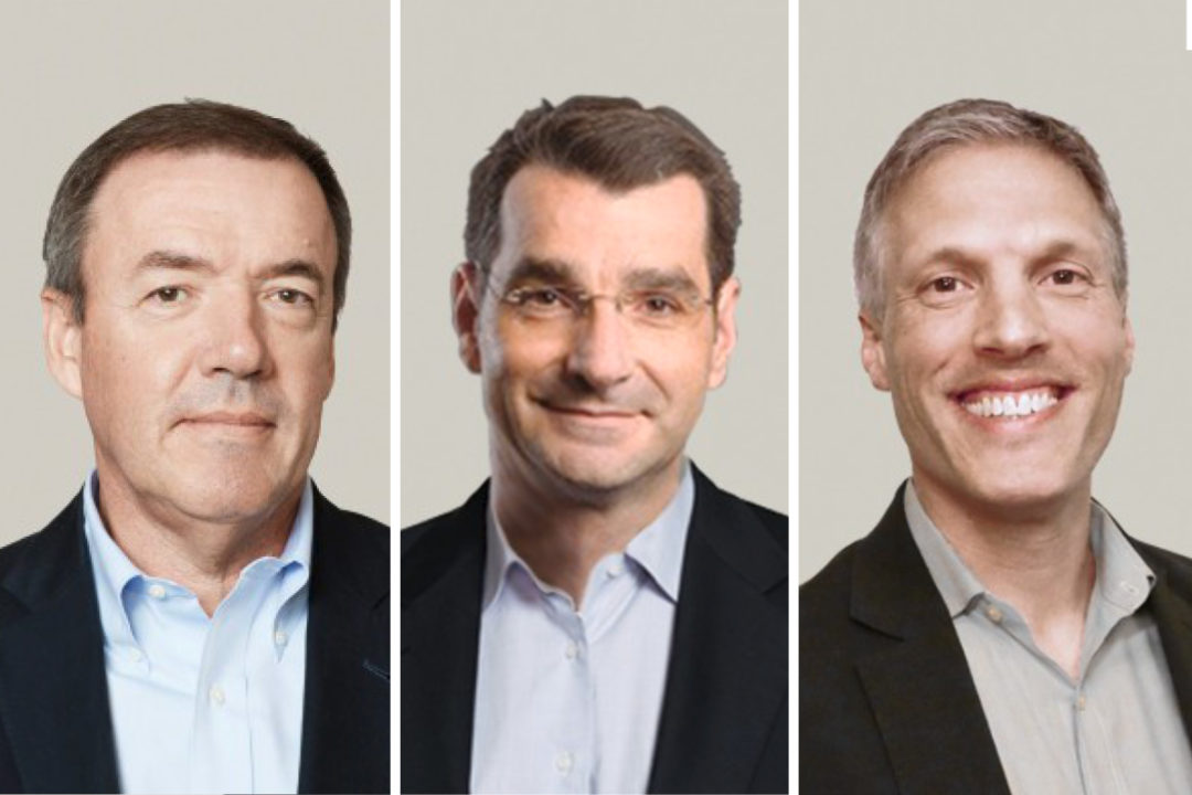 Bunge Agribusiness leadership: Raul Padilla, Christos Dimopoulos and Brian Zachman