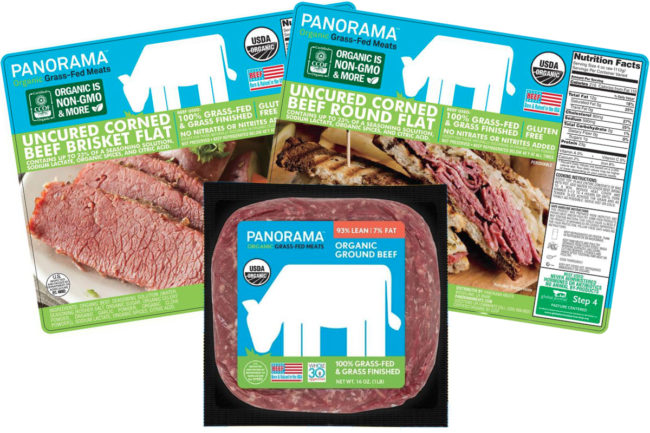 Panorama Meats grass-fed corned beef and ground beef
