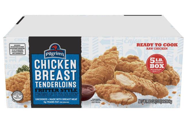 Pilgrim's Pride chicken breast tenderloins