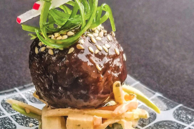 Sysco plant-based meatball