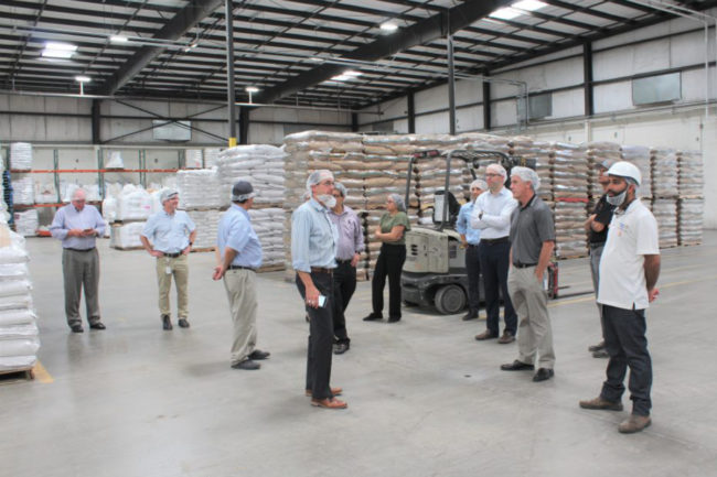 Bay State Milling Woodland, CA, facility tour
