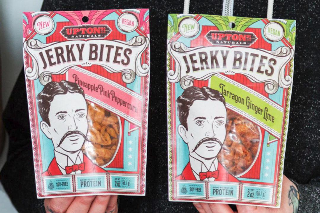 Upton's Naturals plant-based jerky bites