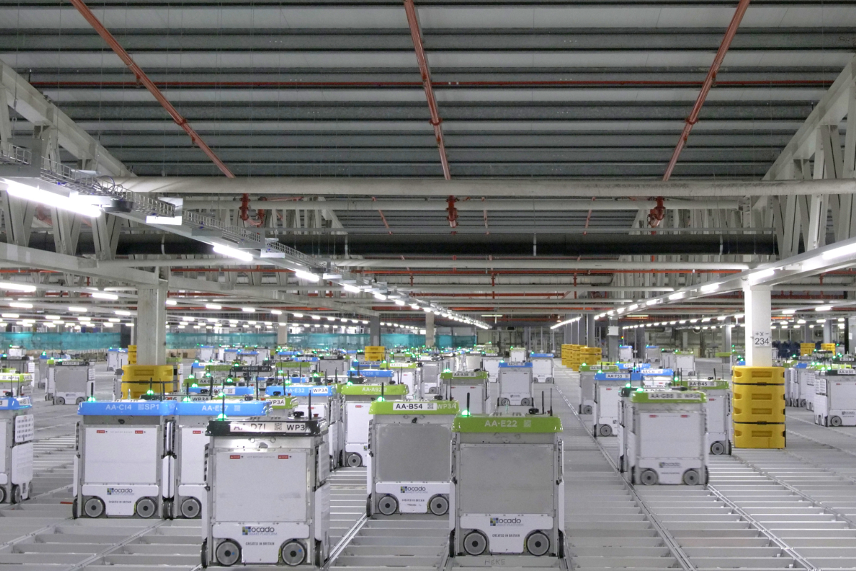 Kroger unveils plans for new high-tech fulfillment center