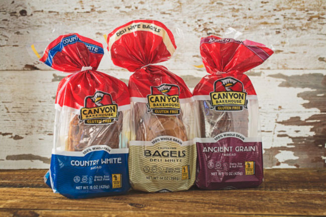 Canyon Bakehouse gluten-free bread, Flowers Foods