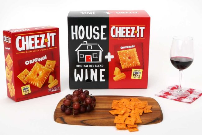 Cheez IT, House Wine