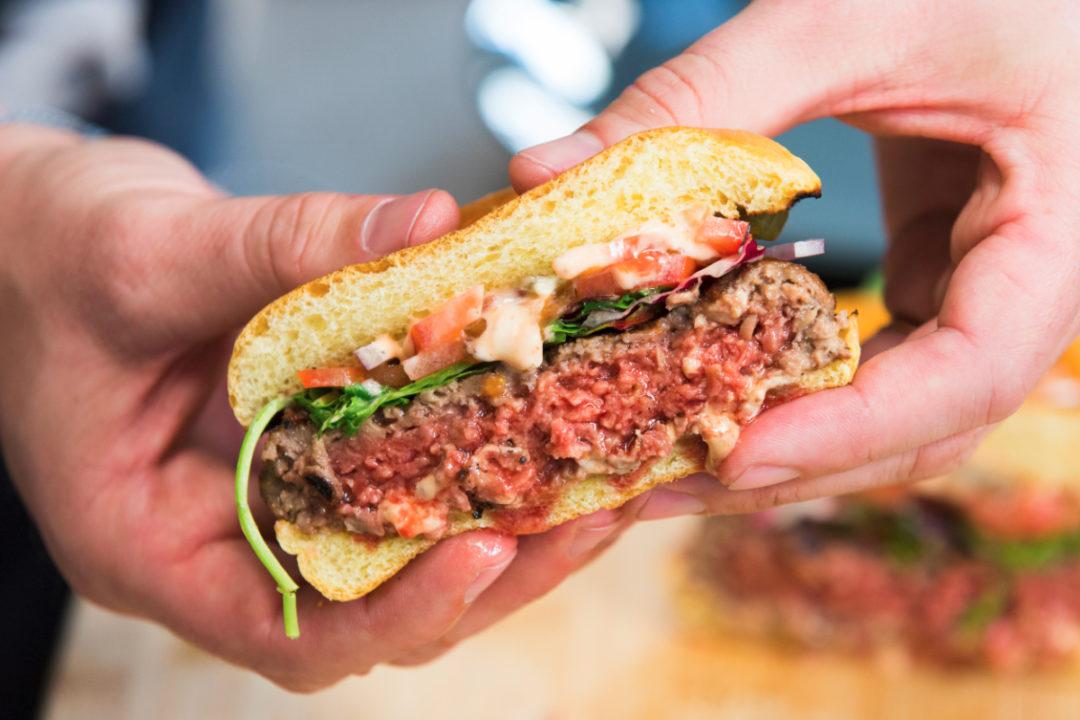 Impossible Burger soy leghemoglobin heme