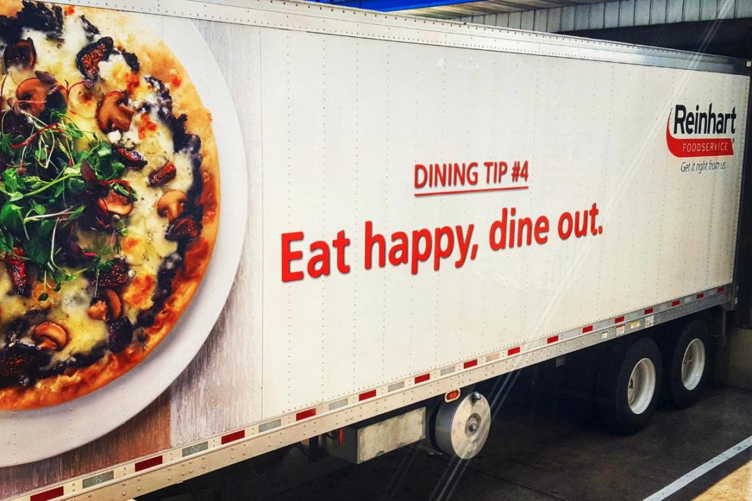 Reinhart Foodservice, L.L.C. truck