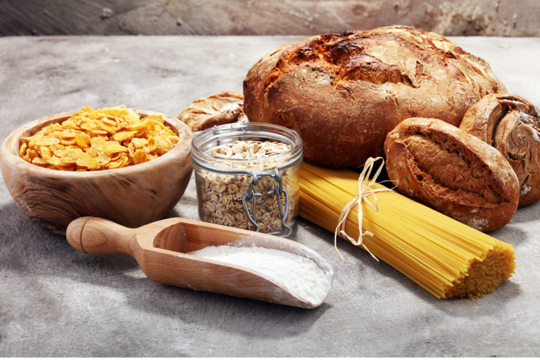 whole grain ingredients and food products