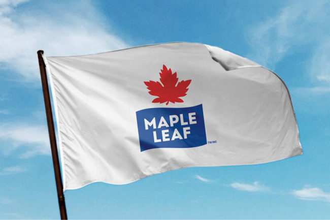 Maple Leaf Foods flag
