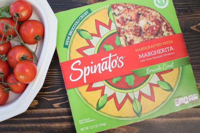 Spinato's Margherita Broccoli Crust Pizza