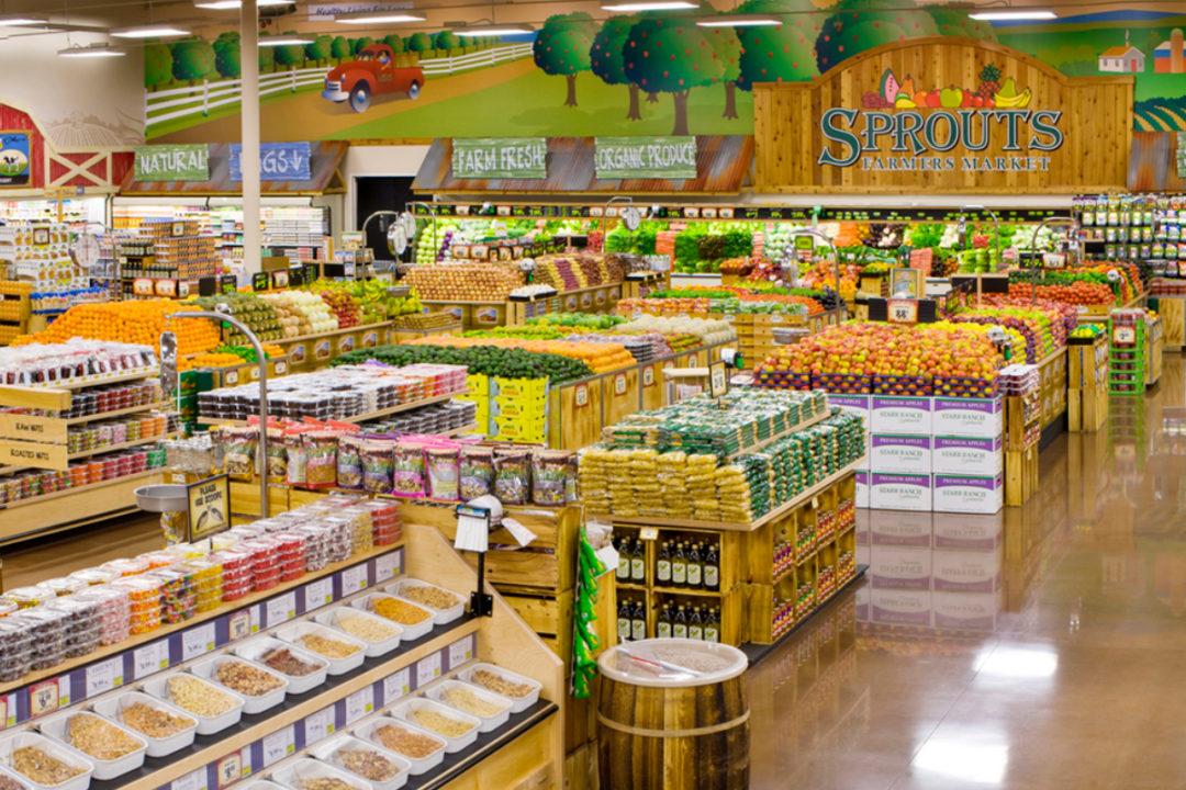 Sprouts Farmers Market store interior