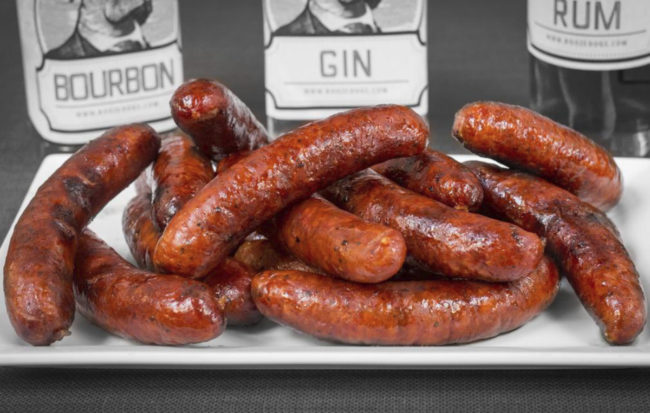 Booze Dogs liquor-infused brats