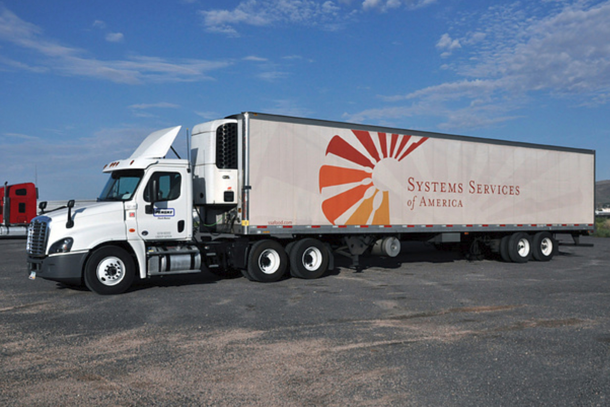 Systems Services of America truck
