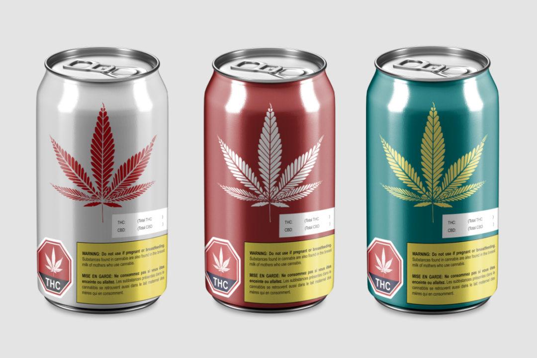 C.B.D.-infused beverages