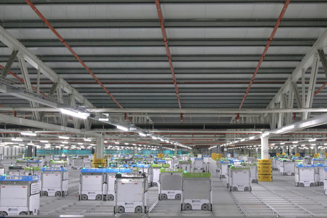 Kroger Ocado warehouse