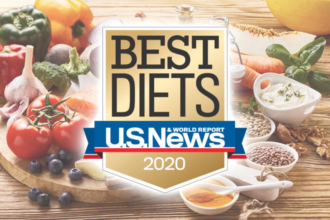 Mediterranean diet is No. 1