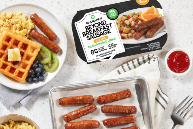 Beyond Meat Beyond Breakfast Sausage Links