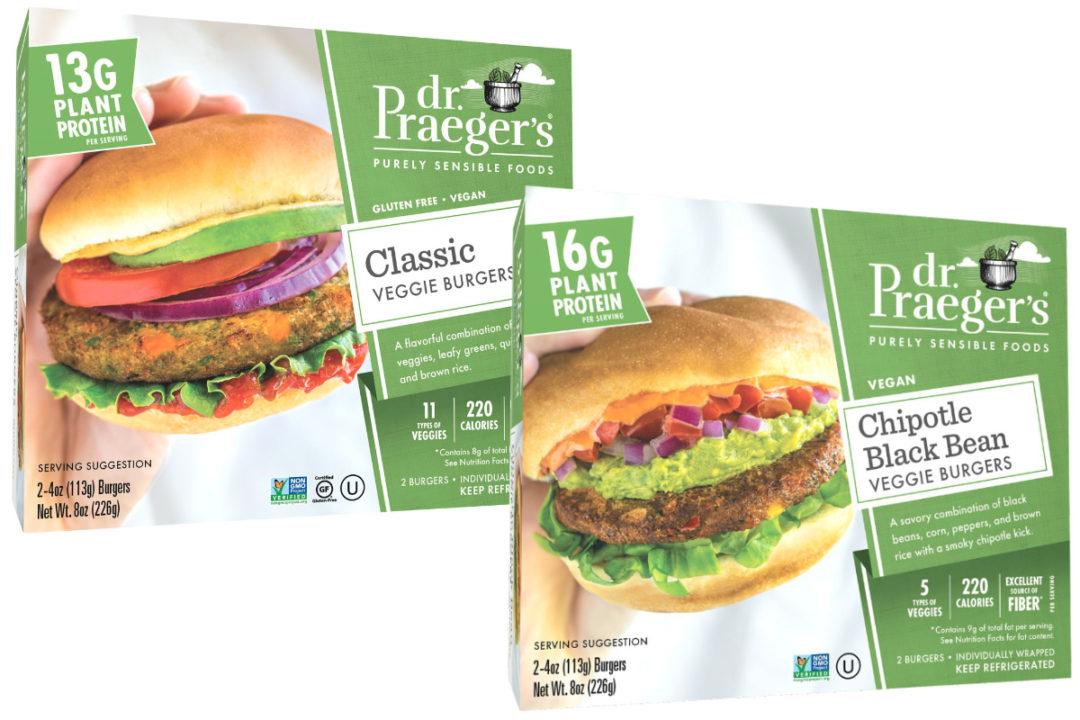 Dr. Praeger's refrigerated veggie burgers