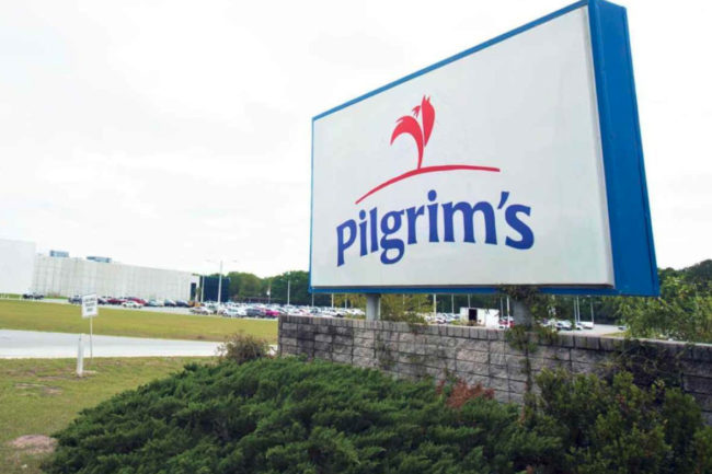 Pilgrim's Pride facility sign