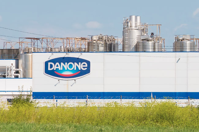 Danone facility in Russia