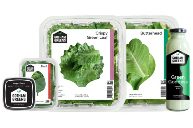 Gotham Greens products