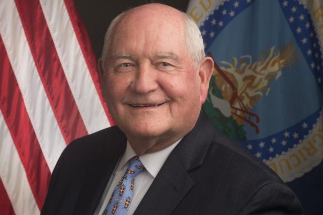 Sonny Perdue, USDA