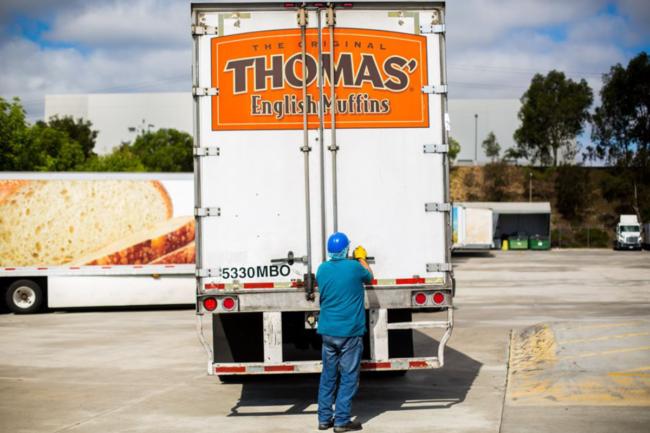 Bimbo Bakeries delivery truck