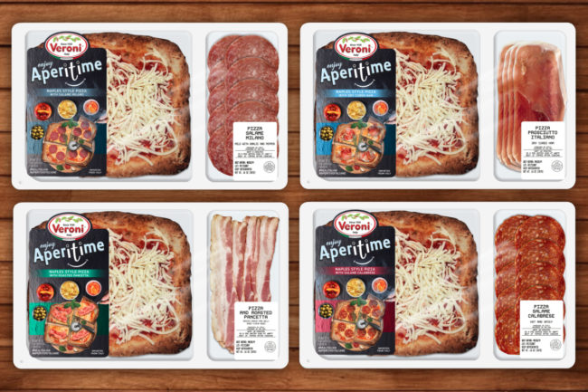 Veroni Naples-style pizza kits