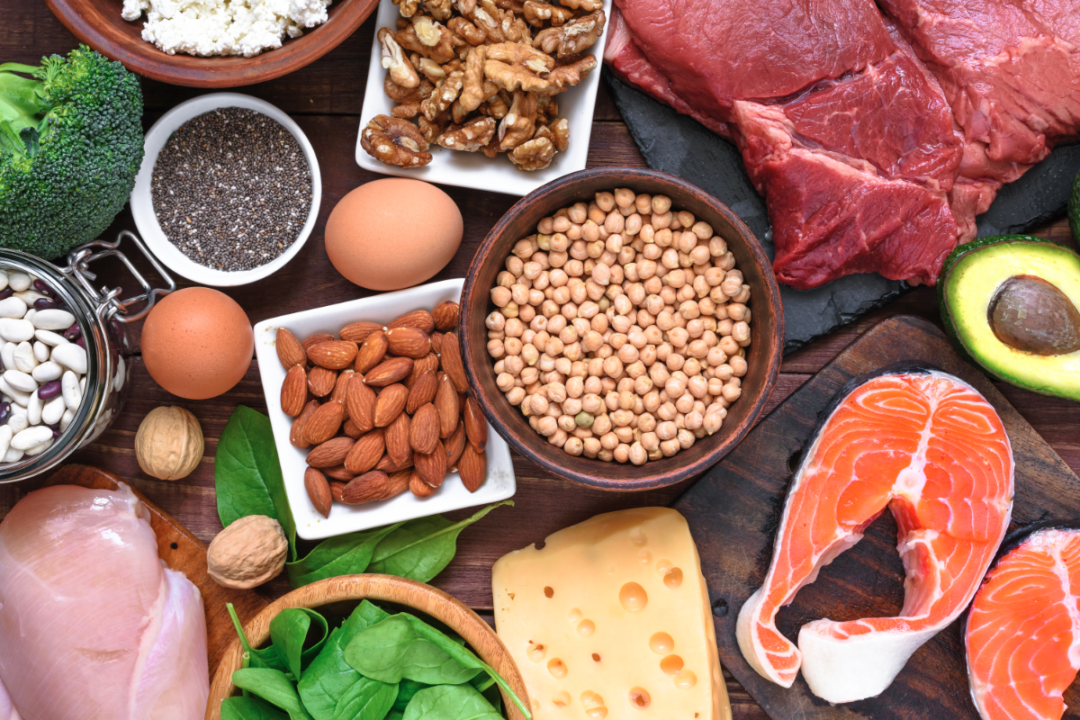 various sources of protein