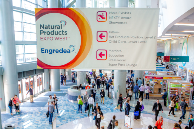 Entry to 2019'sNatural Product Expo West