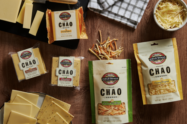 Field Roast's Chao Creamery's plant-based cheese