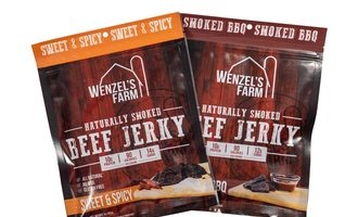 Wenzels new beef jerky flavors
