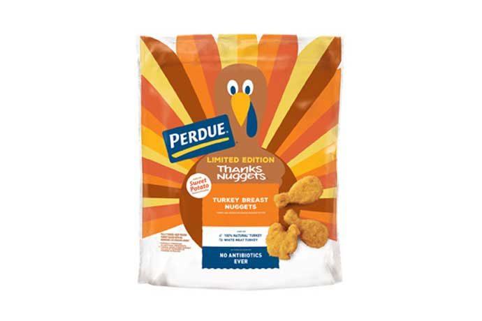 A bag of Perdue Farms Thanksnuggets