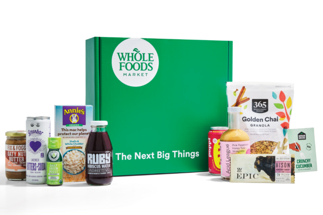 Whole Foods Market Trends Discovery Box